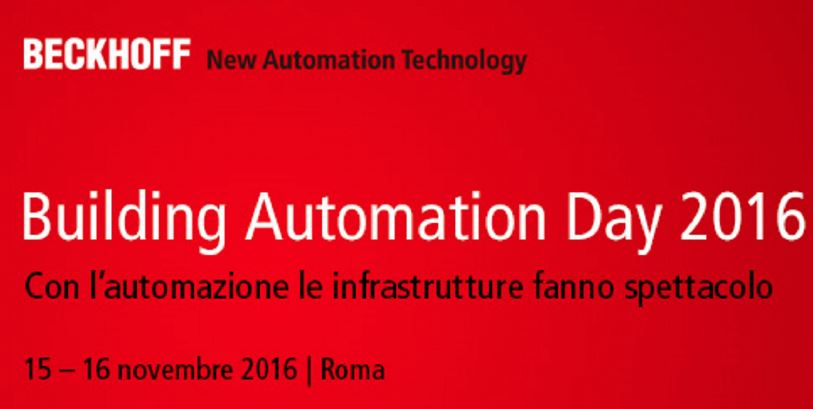 Building Automation Day 2016